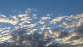 πορτοκάλι σύννεφων Στοκ φωτογραφίες με δικαίωμα ελεύθερης χρήσης