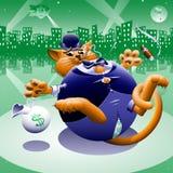 Παχιά γάτα 2: Πόλη χαρτονομισμάτων ελεύθερη απεικόνιση δικαιώματος