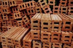 Πορτοκάλι φραγμών για την οικοδόμηση κτηρίου Στοκ φωτογραφίες με δικαίωμα ελεύθερης χρήσης