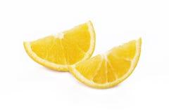Πορτοκάλι φρούτων που κόβει στοκ εικόνες
