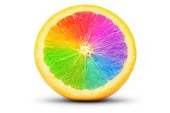 Πορτοκάλι ως φάσμα Στοκ εικόνα με δικαίωμα ελεύθερης χρήσης