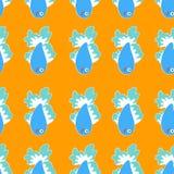 Πορτοκάλι seamles ελεύθερη απεικόνιση δικαιώματος
