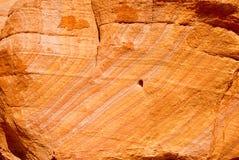 πορτοκαλής βράχος Στοκ Φωτογραφία