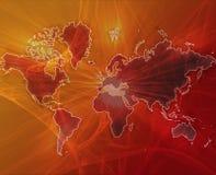 πορτοκαλής κόσμος μετα&phi διανυσματική απεικόνιση