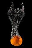 πορτοκαλής παφλασμός κα Στοκ φωτογραφία με δικαίωμα ελεύθερης χρήσης
