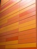 πορτοκαλής τοίχος Στοκ εικόνα με δικαίωμα ελεύθερης χρήσης