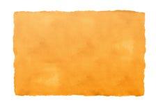 πορτοκαλί έγγραφο κατασκευασμένο Στοκ Φωτογραφίες