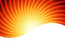 Πορτοκαλί αφηρημένο διανυσματικό υπόβαθρο ακτίνων ήλιων ελεύθερη απεικόνιση δικαιώματος