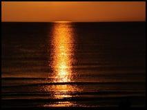 πορτοκαλί ηλιοβασίλεμα Στοκ φωτογραφία με δικαίωμα ελεύθερης χρήσης