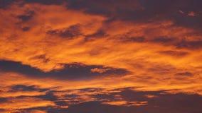 Πορτοκαλί ηλιοβασίλεμα Dreamtime στοκ εικόνες