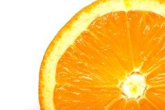 πορτοκαλί λευκό ανασκόπ&e Στοκ Εικόνα