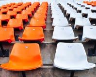 πορτοκαλί λευκό σταδίων  στοκ φωτογραφίες