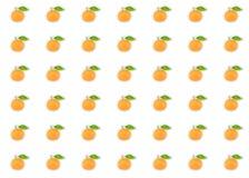 Πορτοκαλί μανταρινιών καθορισμένο εσπεριδοειδούς συμμετρικό σχέδιο διακοσμήσεων βάσεων υποβάθρου σχεδίων φωτεινό διανυσματική απεικόνιση