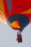 Πορτοκαλί μπαλόνι IMTS στενό σε επάνω ουρανού Στοκ Εικόνες