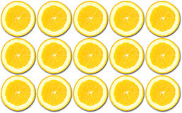 Πορτοκαλί πρότυπο Στοκ φωτογραφία με δικαίωμα ελεύθερης χρήσης