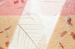 πορτοκαλί ροζ εγγράφου  Στοκ εικόνες με δικαίωμα ελεύθερης χρήσης