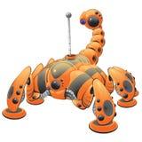 πορτοκαλί ρομπότ απεικόνι& ελεύθερη απεικόνιση δικαιώματος