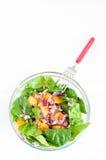 πορτοκαλί σπανάκι σαλάτα&s Στοκ εικόνα με δικαίωμα ελεύθερης χρήσης