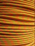 πορτοκαλί σχοινί Στοκ Εικόνες