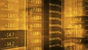 Πορτοκαλί τηλέτυπο Γουώλ Στρητ χρηματιστηρίου Cinematic - V2 φιλμ μικρού μήκους
