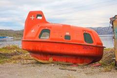 Πορτοκαλί υποβρύχιο σκάφος Στοκ Φωτογραφίες