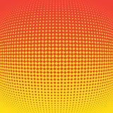 Πορτοκαλί υπόβαθρο με την ημίτοή επίδραση επίσης corel σύρετε το διάνυσμα απεικόνισης απεικόνιση αποθεμάτων
