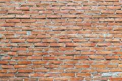 Πορτοκαλί υπόβαθρο σύστασης τουβλότοιχος Στοκ φωτογραφία με δικαίωμα ελεύθερης χρήσης