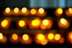 Πορτοκαλί φως κεριών r στοκ εικόνες με δικαίωμα ελεύθερης χρήσης