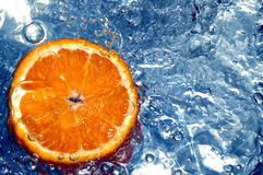 πορτοκαλί ύδωρ στοκ φωτογραφία