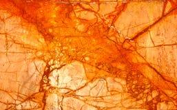 Πορτοκαλί Numidian σίγουρο μάρμαρο, πλήρες πλαίσιο ρωγμών Στοκ εικόνα με δικαίωμα ελεύθερης χρήσης