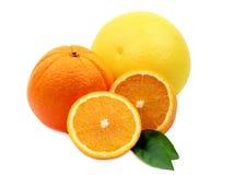 πορτοκαλί pomelo Στοκ Φωτογραφίες