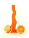 πορτοκαλί vase Στοκ Εικόνα
