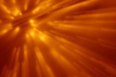 Πορτοκαλιά ακτίνα Στοκ Εικόνες