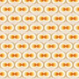 πορτοκαλιά αναδρομική ταπετσαρία Στοκ Φωτογραφίες