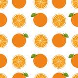 Πορτοκαλιά ανασκόπηση Άνευ ραφής σχέδιο με τις σειρές Ð ¾ Επίπεδο ύφος Στοκ Φωτογραφίες
