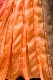 Πορτοκαλιά ανασκόπηση σύστασης Στοκ εικόνα με δικαίωμα ελεύθερης χρήσης