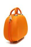 πορτοκαλιά βαλίτσα Στοκ εικόνες με δικαίωμα ελεύθερης χρήσης