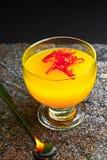 Πορτοκαλιά ζελατίνα Στοκ Φωτογραφίες