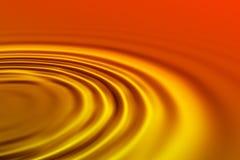 πορτοκαλιά κύματα Στοκ Φωτογραφίες