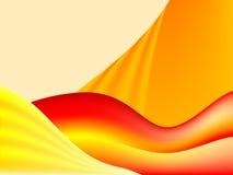 πορτοκαλιά κύματα στοκ φωτογραφία με δικαίωμα ελεύθερης χρήσης
