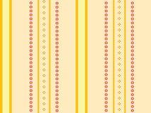 πορτοκαλιά λωρίδες ανα&sig Στοκ Εικόνες