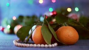 Πορτοκαλιά μανταρίνια, Χριστούγεννα ή νέα έννοια έτους φιλμ μικρού μήκους