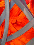 πορτοκαλιά μελέτη μετάλλ Στοκ Εικόνα