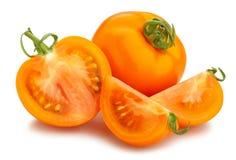 πορτοκαλιά ντομάτα στοκ εικόνα