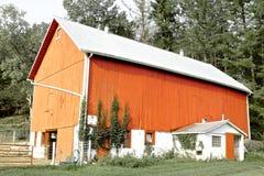 Πορτοκαλιά σιταποθήκη Στοκ Εικόνες