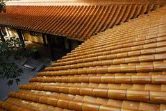 πορτοκαλιά στέγη Στοκ φωτογραφία με δικαίωμα ελεύθερης χρήσης