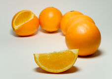 πορτοκαλιά σφήνα Στοκ Φωτογραφία