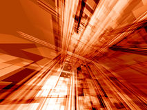 πορτοκαλιά τεχνολογία &ep Στοκ Εικόνα