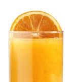 πορτοκαλιά φέτα χυμού στοκ φωτογραφία με δικαίωμα ελεύθερης χρήσης