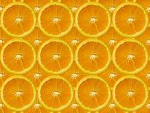 πορτοκαλιά φέτα Στοκ Φωτογραφία